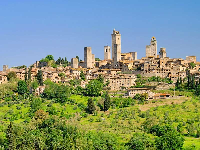 Best of the Tuscan Countryside--San Gimignano, Farmhouse, Monteriggioni